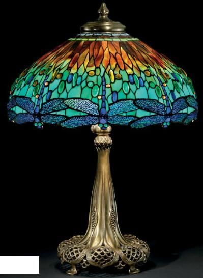 Dragonfly Lamp    Louis Comfort Tiffany, 1910    Christie's