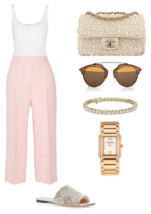 by aryannarose-1 on Polyvore featuring polyvore fashion style Fendi Wolford Blue Nile Christian Dior Rochas clothing