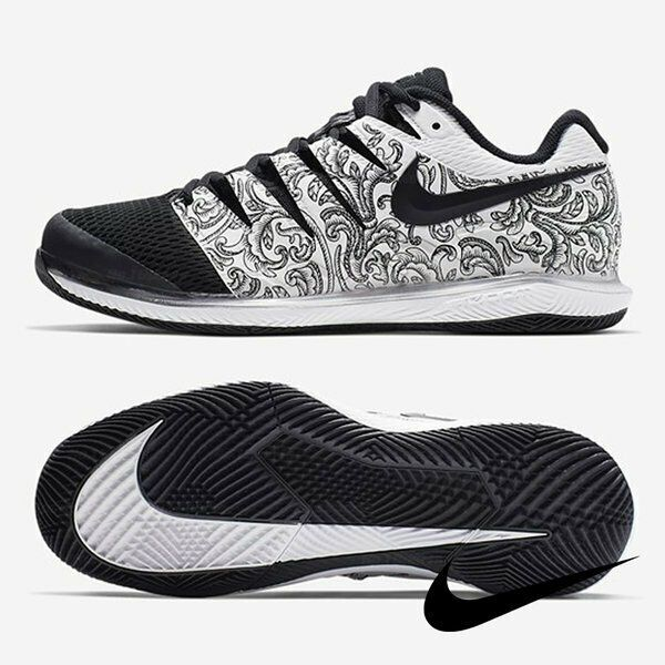 Nike Air Zoom Vapor X Men S Tennis Shoes Black White Racket Racquet Aa8030 103 Nike Platform Tennis Shoes Walking Shoes Women Walking Shoes Women Sneakers