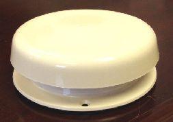 Vent - Roof - Attic Mushroom Vent Cap - White
