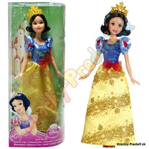 Princezné Disney Snehulienka, trblietajúca sa princezná - Mattel e-shop hracky-predeti.sk