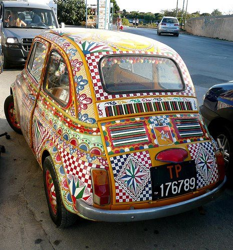 Italian+Job+Art+Car.jpg (465×500)                                                                                                                                                                                 More
