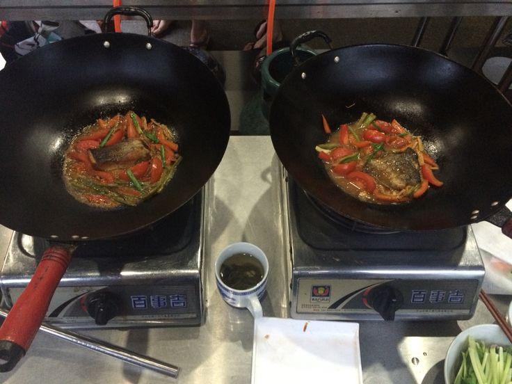Chino y yo ( clases de cocina yangshuo, China)