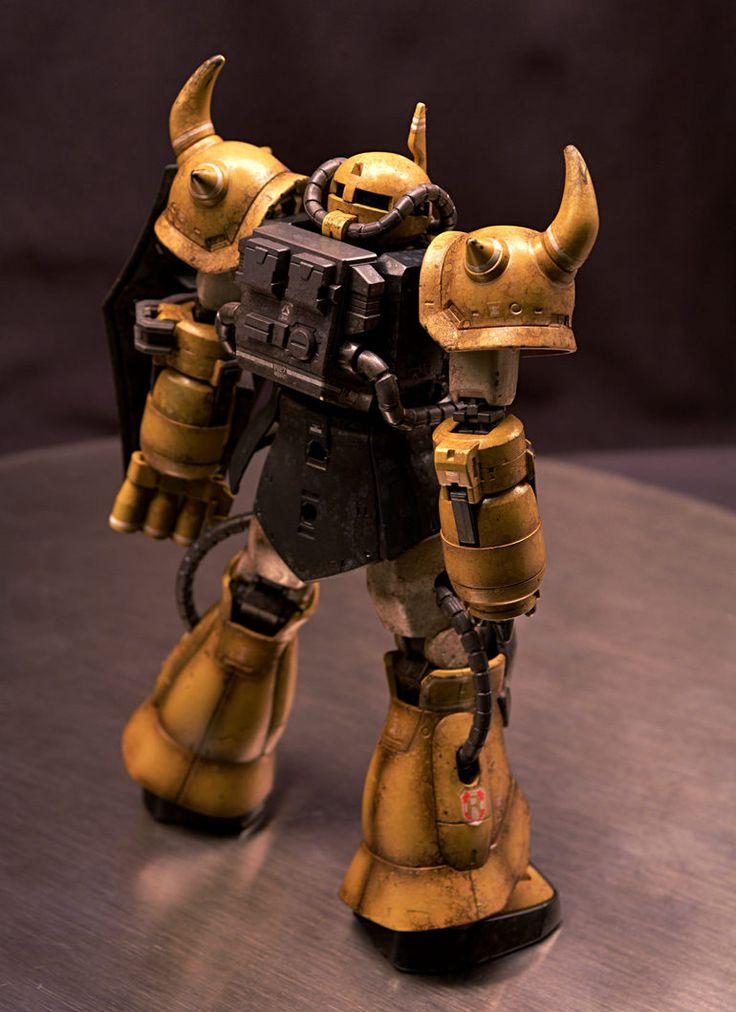 HG プロトタイプ グフ (戦術実証機)