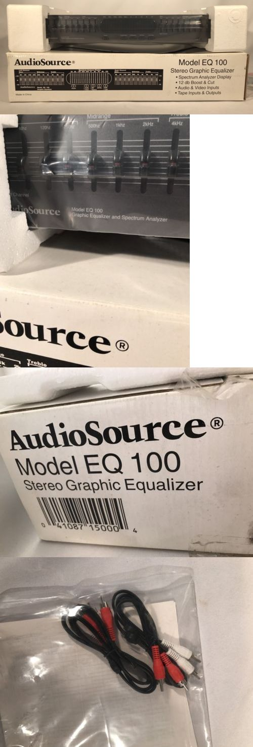 Equalizers: Brand New Audiosource Eq 100 Graphic Equalizer And Spectrum Analyzer -> BUY IT NOW ONLY: $200 on eBay!