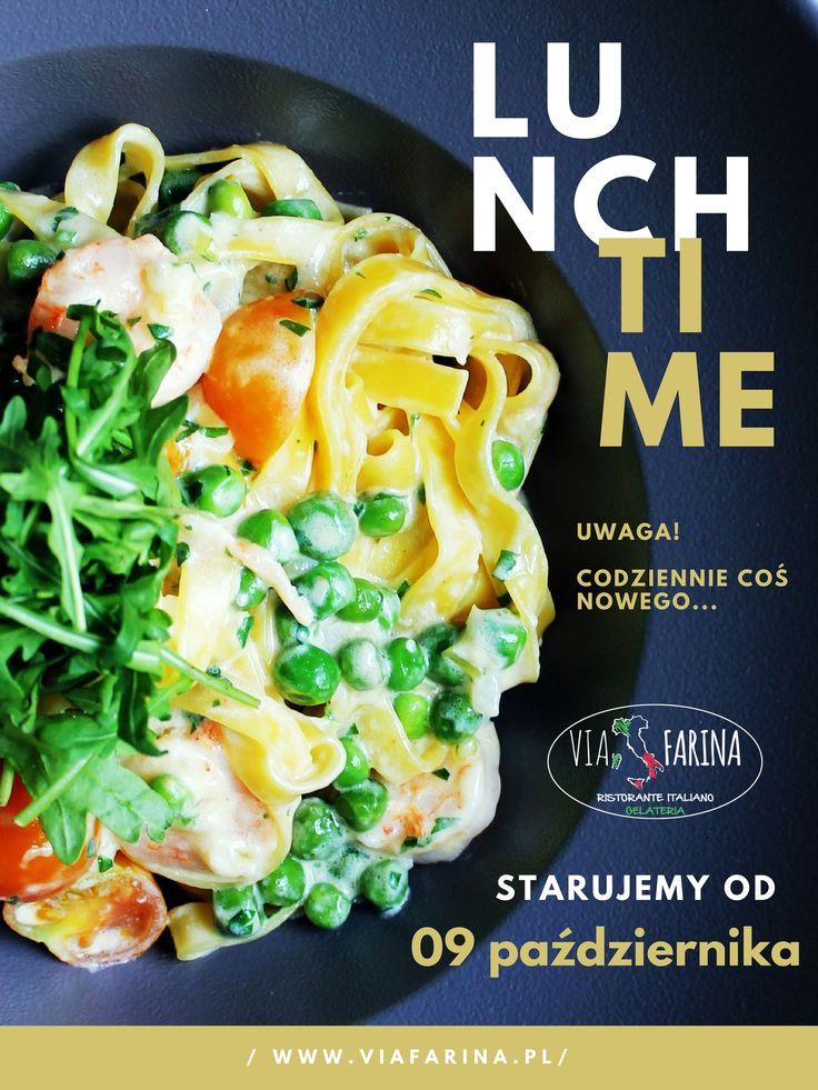 INFORMACJE na temat LUNCH MENU znajdziecie Państwo na naszej stronie internetowej ☛ http://www.viafarina.pl/lunch-time/ ☚ lub na naszym profil na Facebooku - czyli właśnie tutaj - gdzie na bieżąco będziemy Was informować o szczegółach LUNCH MENU na dany dzień  Już dziś ZAPRASZAMY na LUNCH  #restauracja #restaurant #italianfood #italianrestaurant #polska #poland #niepołomice #niepolomice #i #okolice #kraków #krakow #viafarina #pizza #italia #menu #lunch #lunchtime #new #nowość #goodfood…