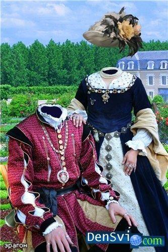 Шаблоны костюмов под под исторический стиль для фотографий