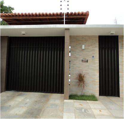 Grande Promoção de Portões de Garagem e Social de Alumínio - Automatização de Portões