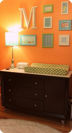 Good idea for a changing table that extends beyond being a changing table after they grow up.