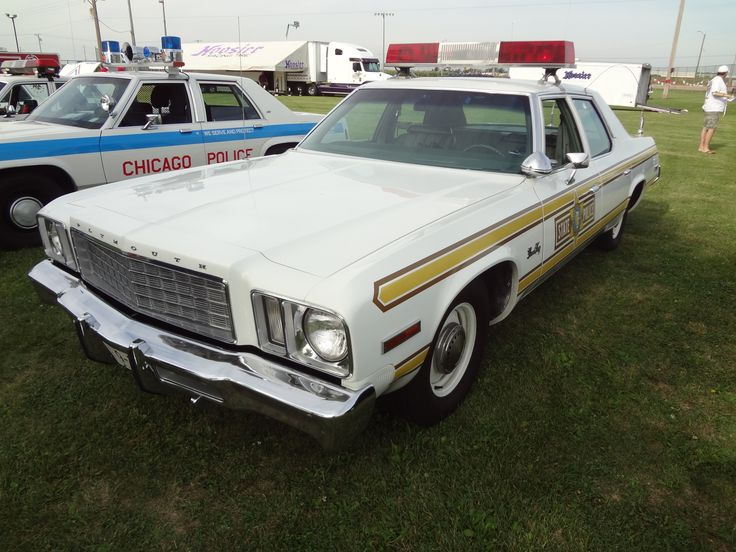 Classic Illinois State Police car. Auto, Official Use