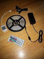 Produkttests und mehr: Test: LE 5M LED Streifen RGB Set LED Strip mit 300...