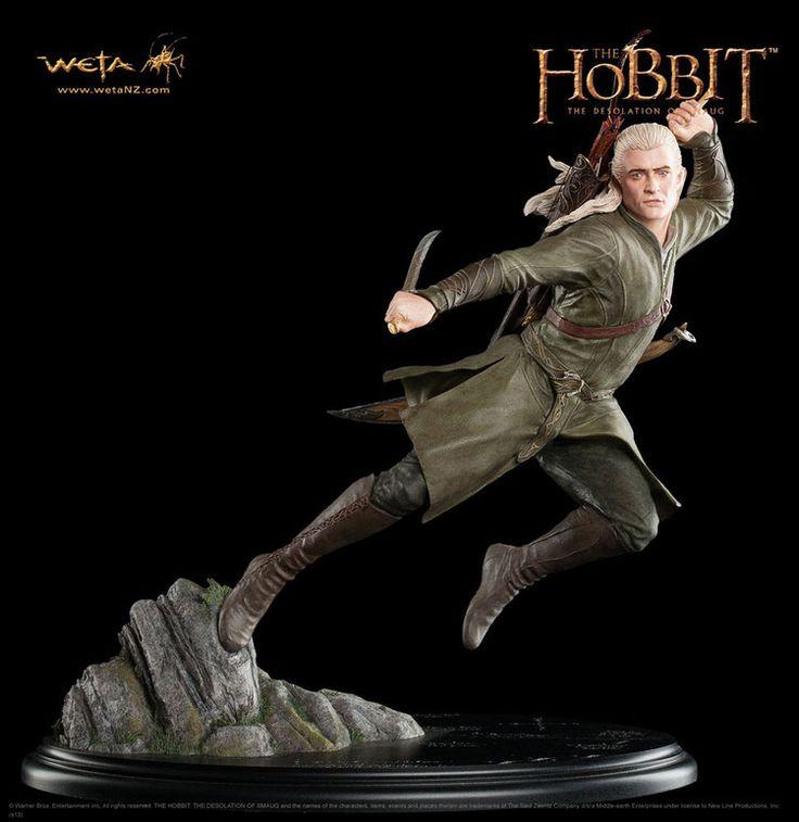 Der Hobbit Smaugs Einöde Statue 1/6 Legolas Grünblatt 30 cm