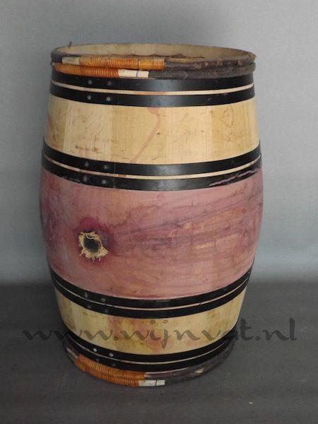 1c 224L Bourgogne rode buik zwarte banden