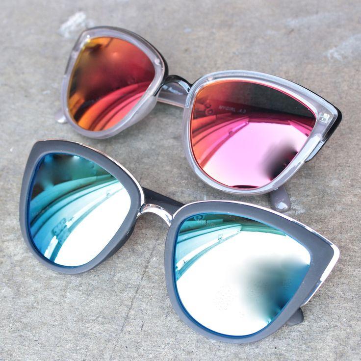 Quay My Girl Sunglasses in black or coffee