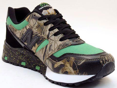 Camo tennis shoes!