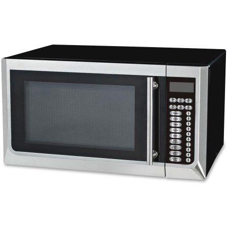 Avanti Avamt16k3s 1 000 Watt Microwave Black Stainless Steel