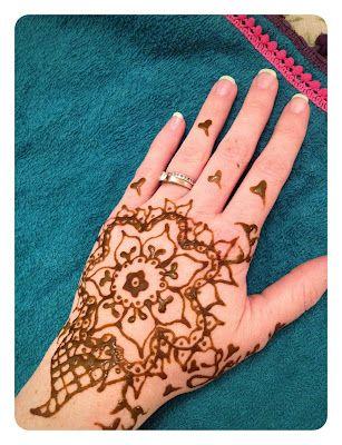 The Handmade Dress: Henna Recipe