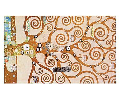 Tappeto multiuso digitale in vinile L'Albero della Vita Klimt II