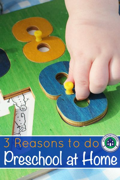 3 Reasons to do Preschool at Home - Must Read before putting the kids in a school