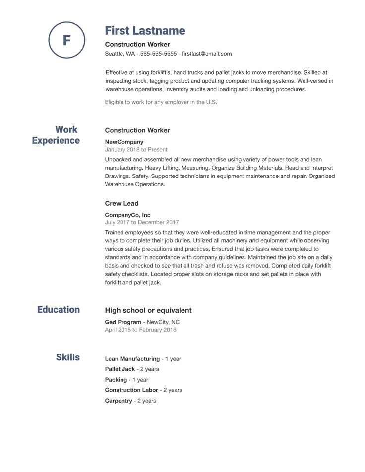 Pin on An Organized Resume