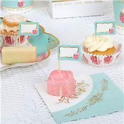 Vintage Rose - Muffinspieße