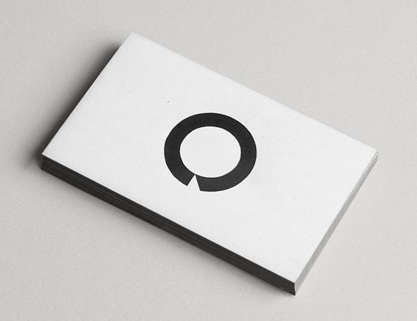 51 best edge painted business cards images on pinterest carte de logo and business card design with black edge painted detail by heydays for o architecture reheart Image collections