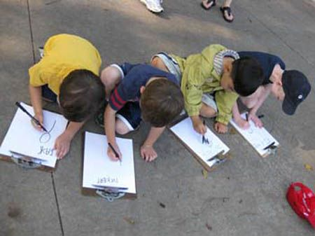 Lesson planning in the context of projects: Helping children sketch and draw from observation