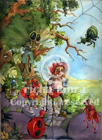 RKS children book illustration portfolio.