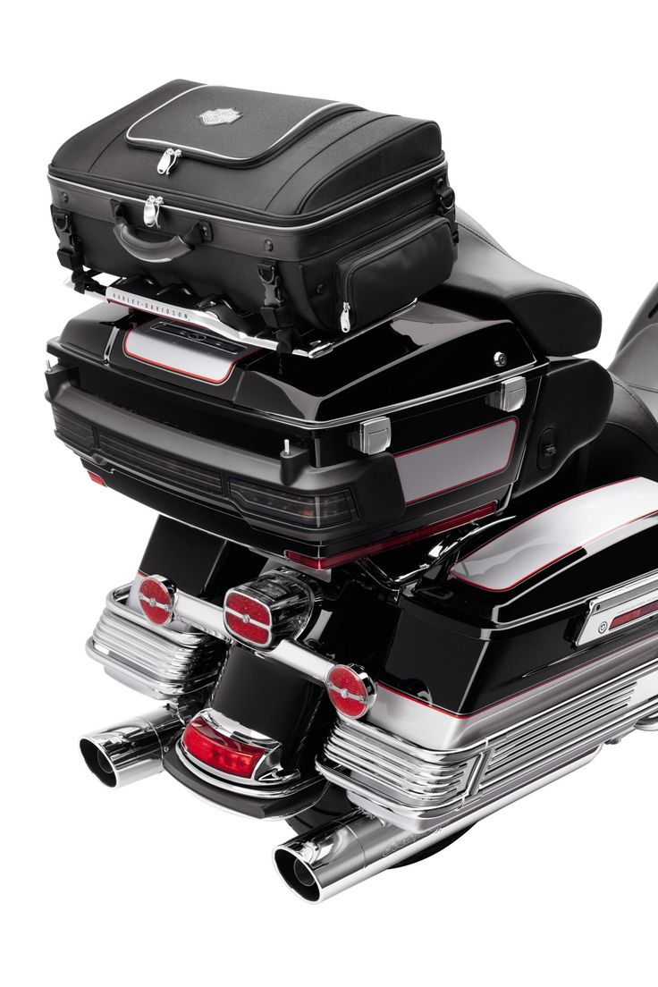 Room to roam. | Harley-Davidson Premium Tour-Pak Rack Bag