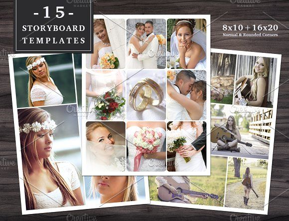 68 best Collage\/Storyboard Templates images on Pinterest - photography storyboard sample