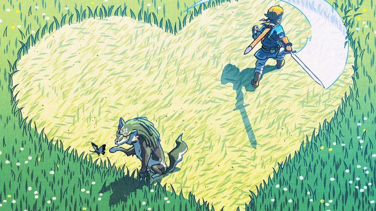 Breath of the Wild Gets New Valentine's Day Based Official Art – Zelda Informer