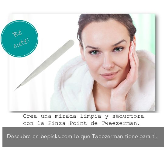 ✪ Una mirada seductora nunca falla ✪ ¡Descubre la Pinza Point de Tweezerman en bepciks.com! #bepicks #rostro #becute #tweezerman Ingresa aquí ➜ http://www.bepicks.com/tweezerman-pinza-point.html