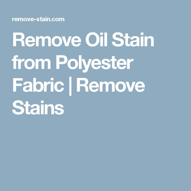 Best 25 remove oil stains ideas on pinterest oil stains grease stains and grease clothing - How to remove rust stains from clothes in a few easy steps ...