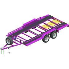 Znalezione obrazy dla zapytania car trailer plans