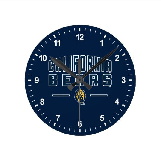 California Bears | Cal Berkeley 5 Round Clock