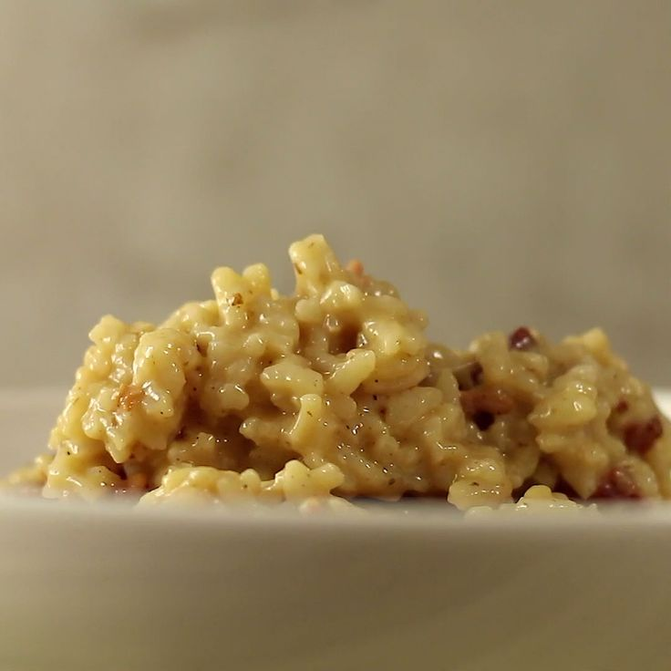 This risotto is a delicious twist on the expected - it uses beer!