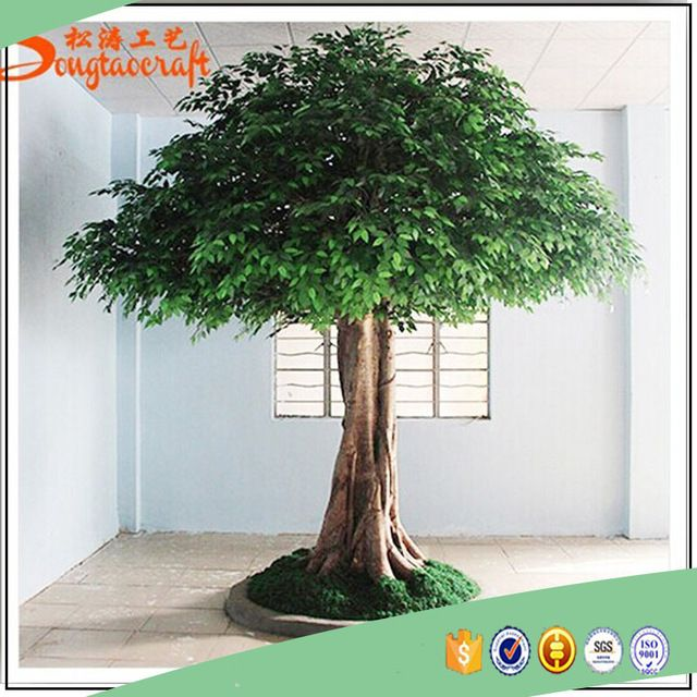 Source Large outdoor artificial trees life size big shade trees factory sale cheap artificial oak trees on m.alibaba.com