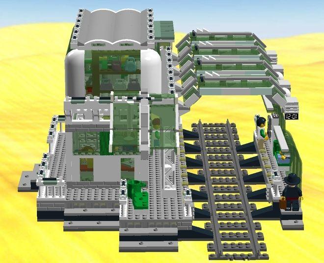 312 best LEGO train images on Pinterest | Lego trains, Lego stuff ...