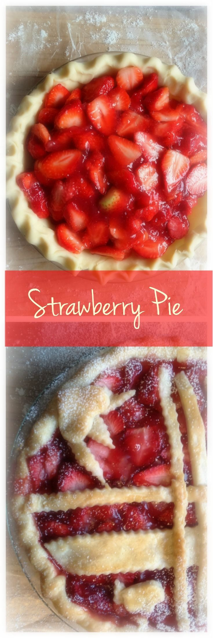 Strawberry Pie, Maple Syrup and Joie de Vivre!  I just won't eat fresh strawberries any more without maple syrup.  The sweet tang of freshly sliced berries dripping with the rich golden silky flavour of real maple syrup, well just try it.  I guarantee you will give it a second glance.