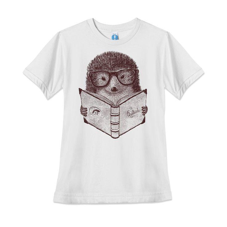 Women's Hipster Hedgehog T-Shirt
