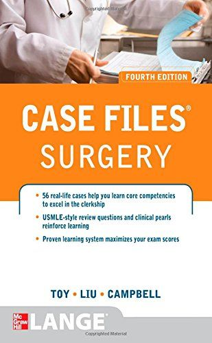 Case Files Surgery 4th edition 2014 PDF