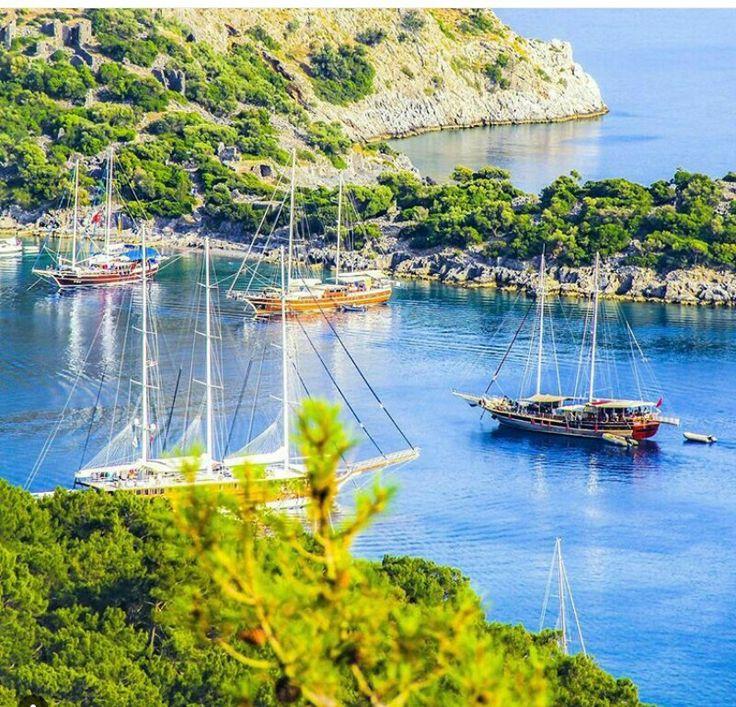 Gemile adası.. Fethiye