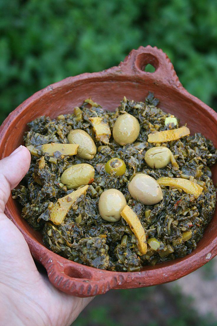 Salade de pourpier à la marocaine aux olives et citron confit- Passion culinaire 1