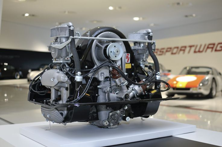beautifully engineered • 1953 Porsche 4-Cam Type 547 Engine aka the...