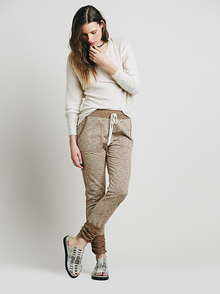 Intimately Sweat It Slim Jogger at Free People Clothing Boutique