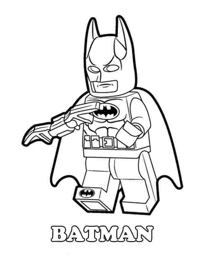 Free Printable Lego Superman Coloring Pages Superman Lego Di 2020