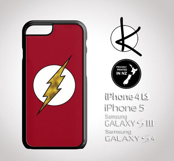 UPDATED: Flash Phone Case  iPhone 4/4S 5/5S 6 and by Kultured