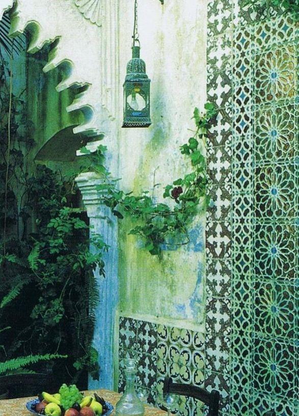 moroccan garden home pinterest gardens moroccan
