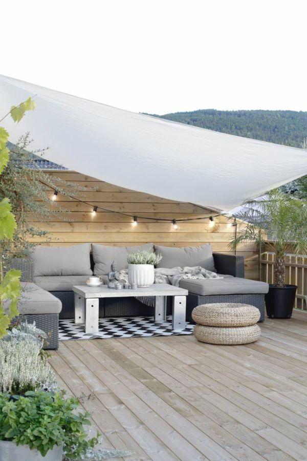 Gartengestaltung Garten Beleuchten Terrasse Lichterkette Au Enleuchten Haus Au Enbeleuchtung Garten Beleuchtun In 2020 Patio Design Backyard Patio Designs Patio