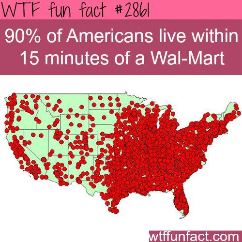 Wal-mart empire -  WTF fun facts